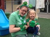 Green day at preschool