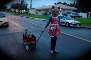 How Baby Bear rolls...