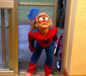 Goldilocks as SpiderGirl!