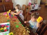Playdoh and Anna