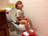 Baking and Potty-Training, Not Simultaneously